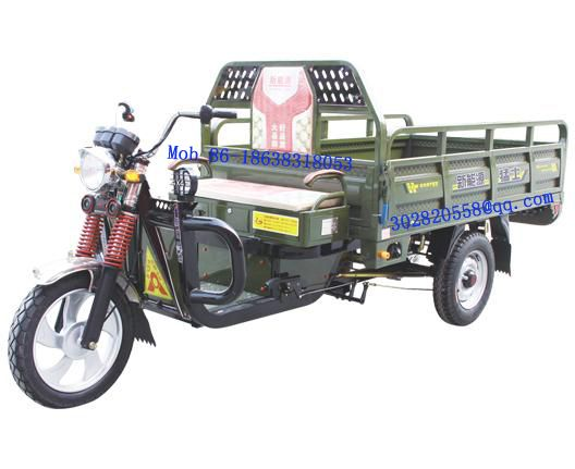 electric cargo tricycle for loading goods, 1500kg, 120km