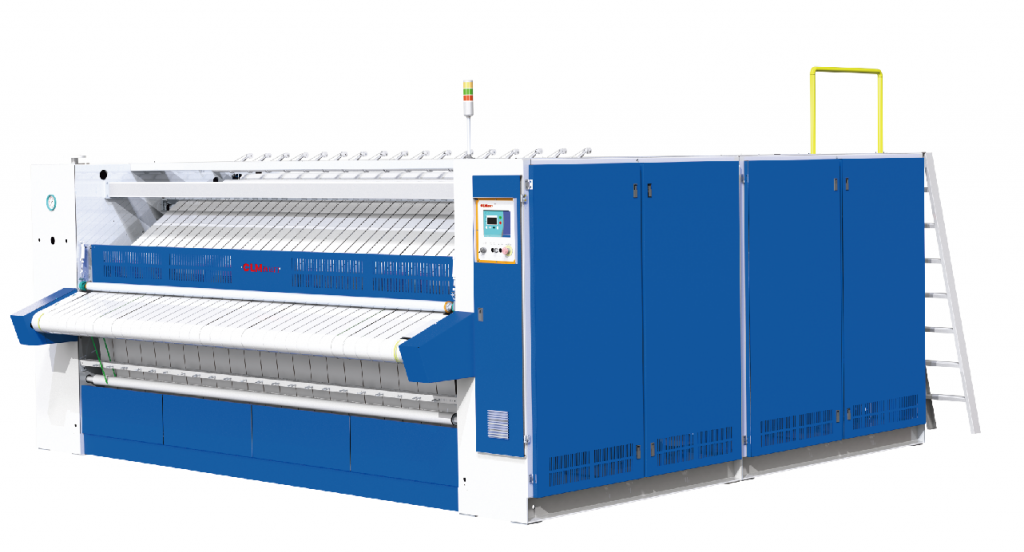 High speed roller ironer(800 Series) for hotel and hospital laundry need
