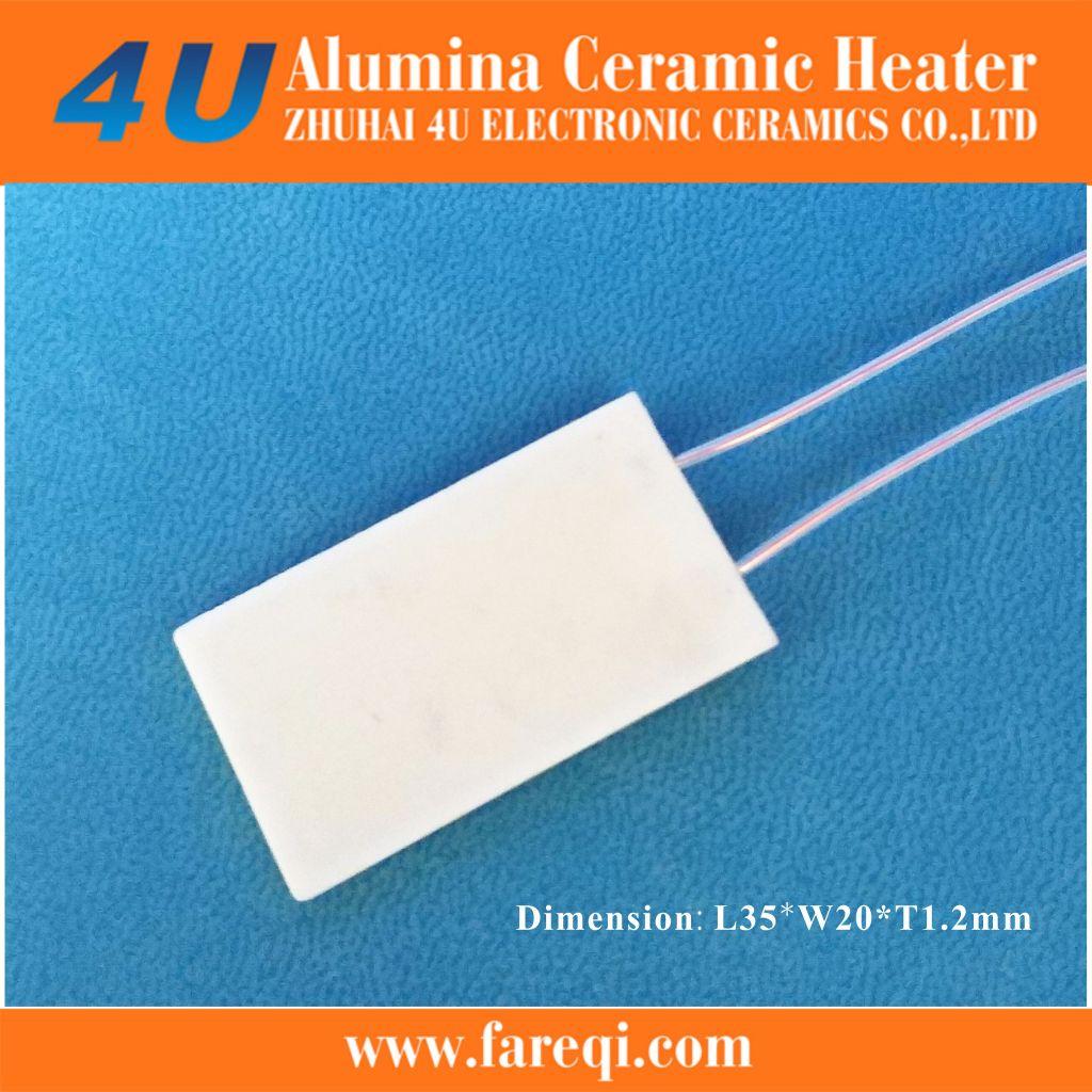 ceramic heating element for ultrasonic baths