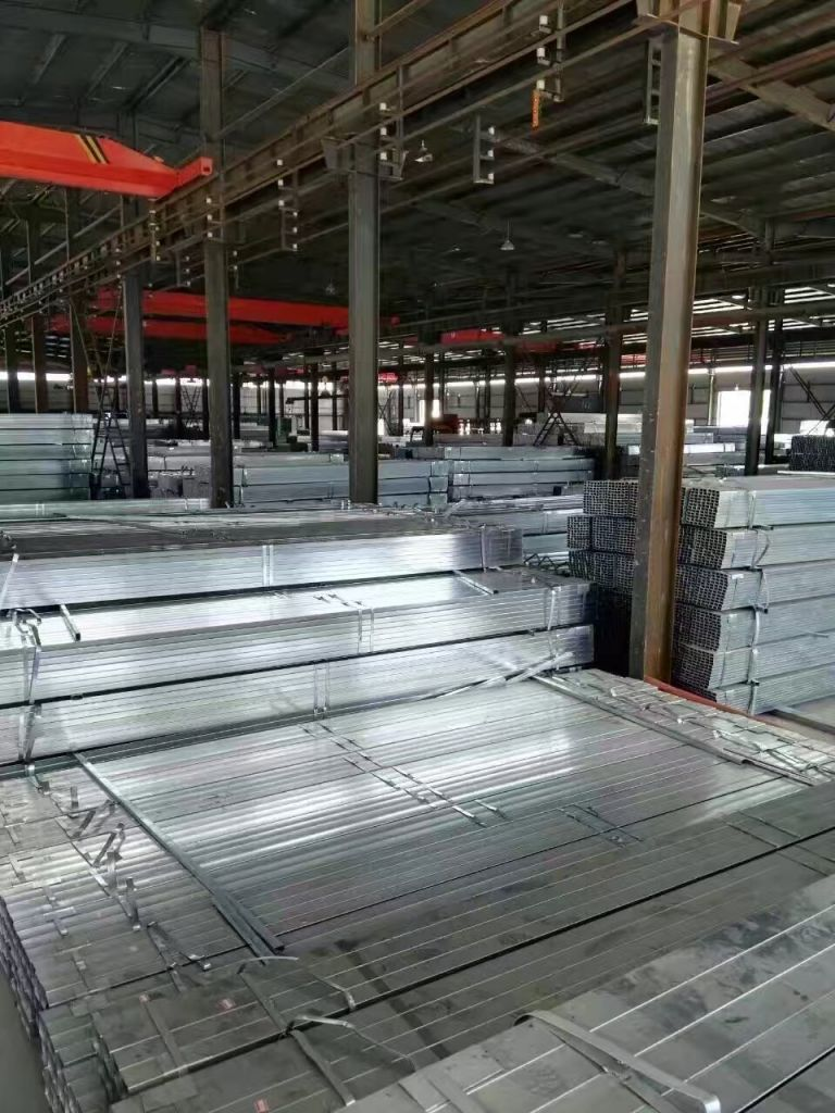hollow Square and rectangular steel pipe