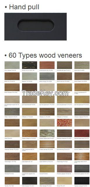 Kitchen Cabinet Doors - Wood veneer + Paint