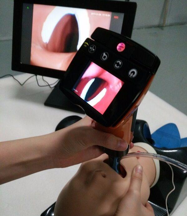 Handheld Optical Video Laryngoscope With 2.4 Camera