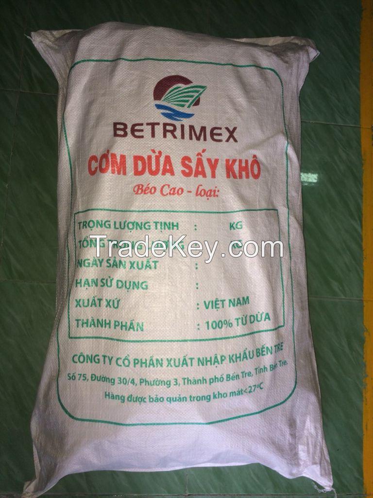Premium Quality Desiccated Coconut High Fat - Medium Grade (whatsapp:0084973521036)