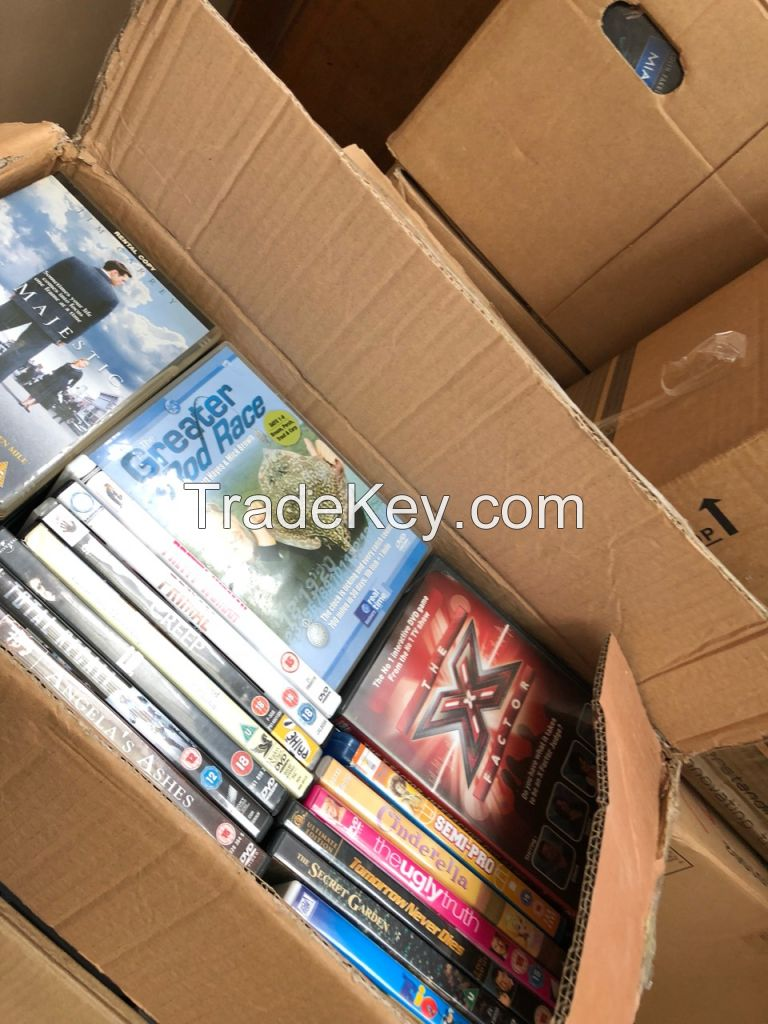 Used Media: Music CDs | DVDs | Blu-Rays | Console Games | Wholesale