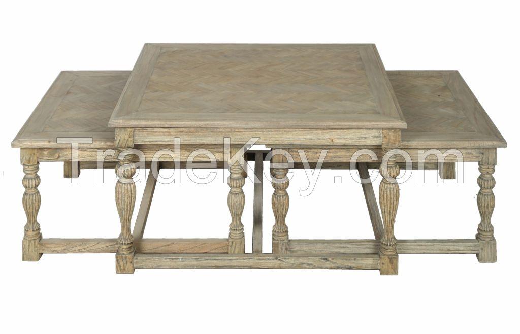 set of three coffee table Hardy