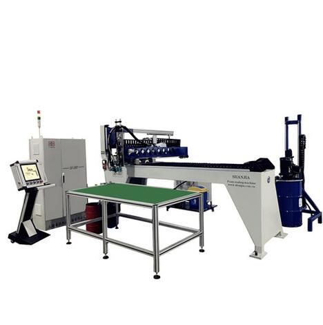 SJ-X303 Two-component Foam Sealing Gasket Machine