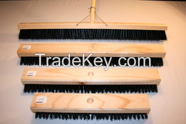 Platform broom, 450mm, soft/stiff