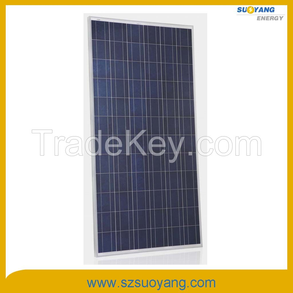 Poly Crystalline Silicon Solar Panels 300WP