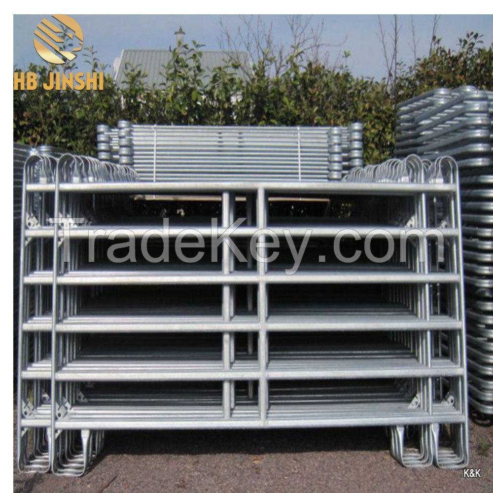 Used Galvanized Horse Fence Panel