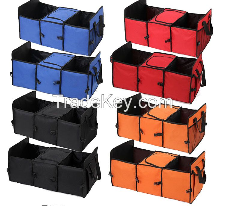 Foldable Heat presevation car trunk organizers