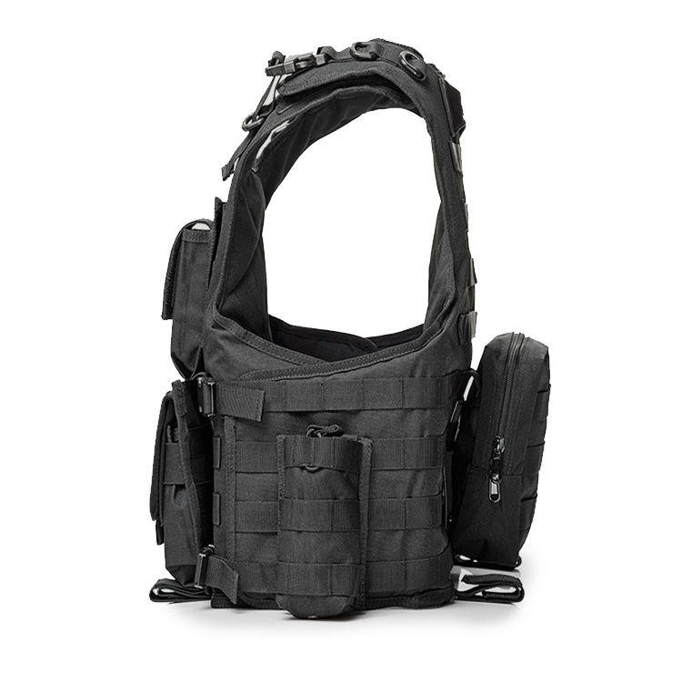 Fully Detachable Bulletproof Vest