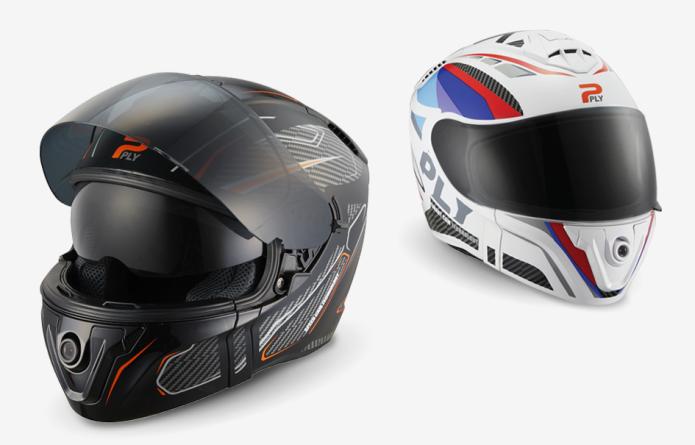 SMART HELMET for motorcycle / wifi camera / bluetooth handsfree / mobile app / ply helmet Korea