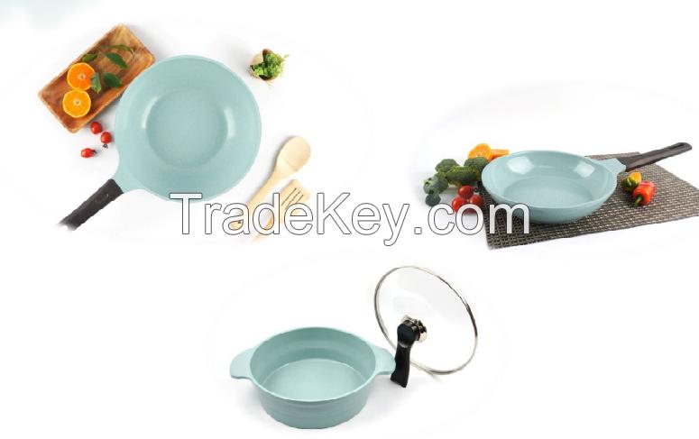 Jade-Ceramic Coating Pan