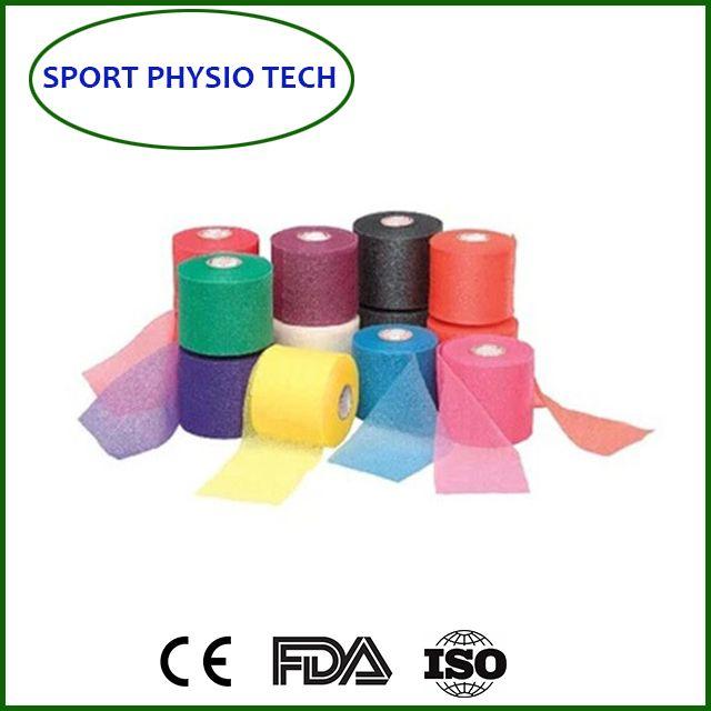 Sports tape underwarp foam tape
