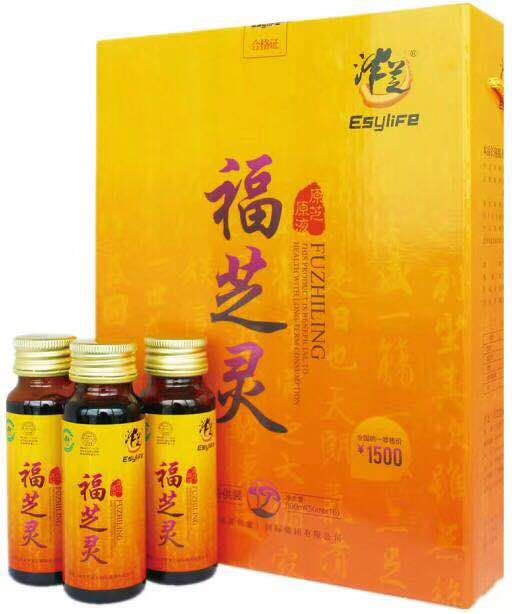Ganoderma lucidum concentrate oral liquid