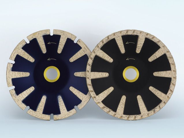 Rim Turbo Diamond Blade for Cutting and Grinding
