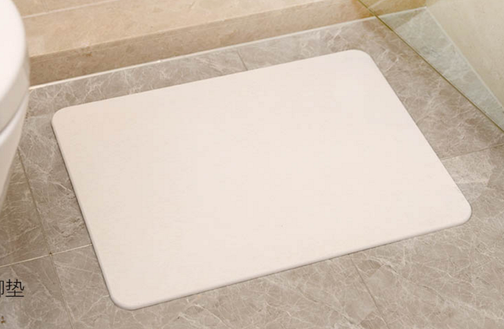 Diatomite Bath Mat For Shower Room