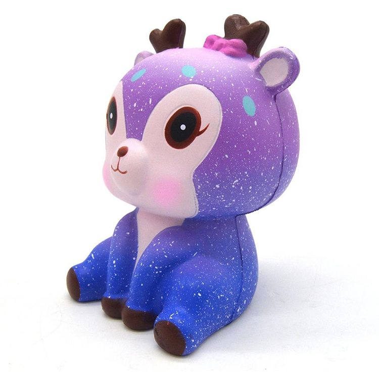 High quality wholesale jumbo slow rising squishy deer animal toy