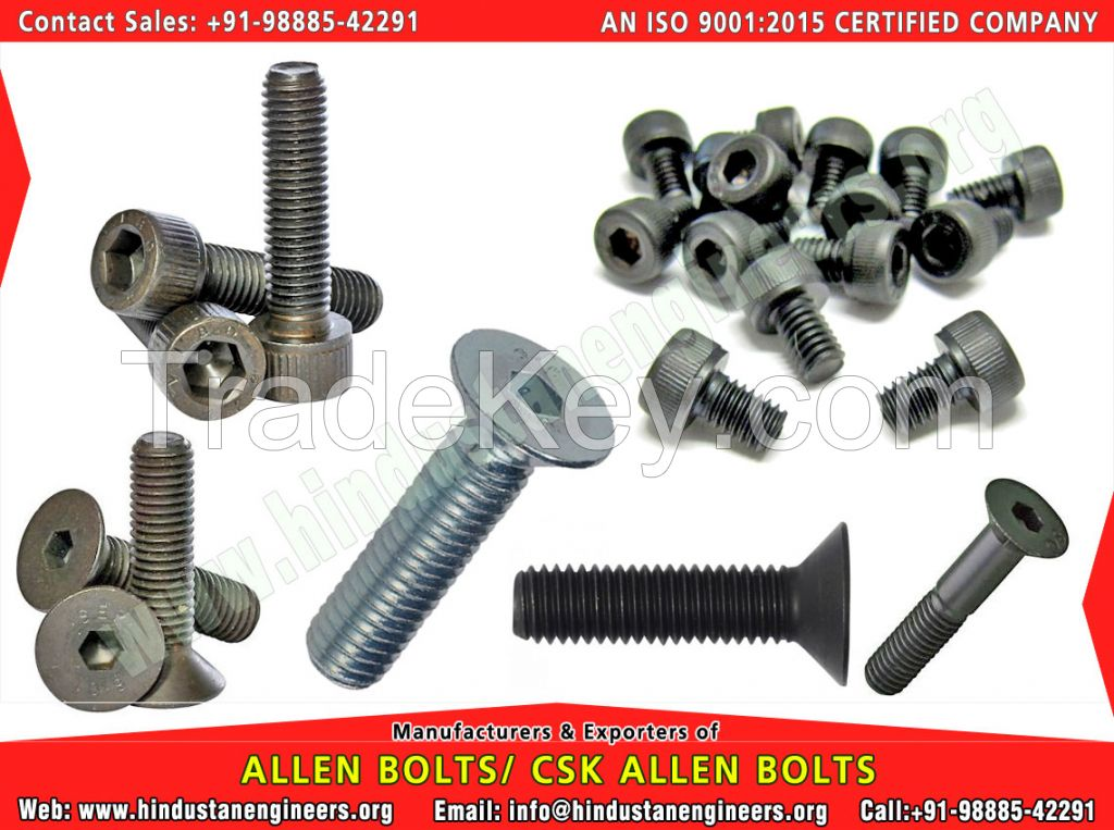 Hex Bolts Manufacture Expoter in india