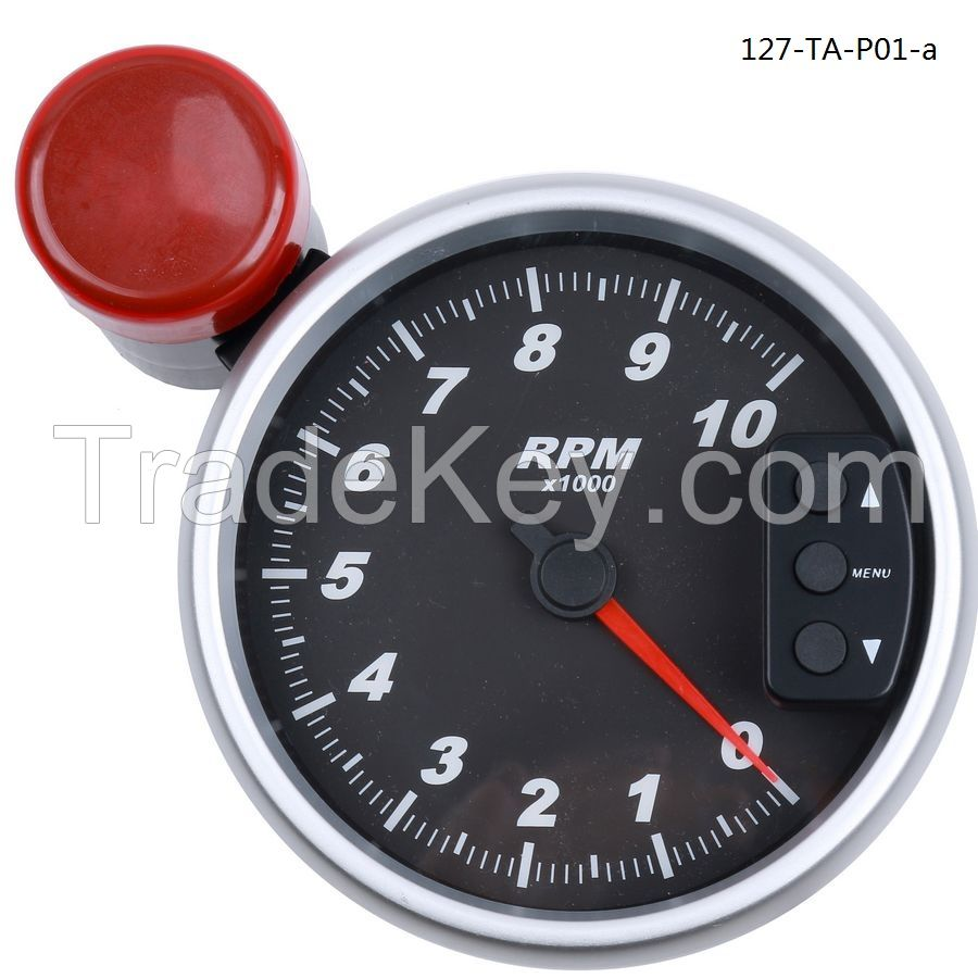 127mm tachometer with shift light