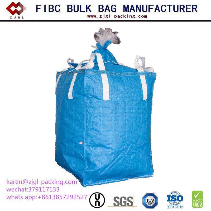 1000 Kg PP Woven Jumbo Plastic FIBC Bag for Granules