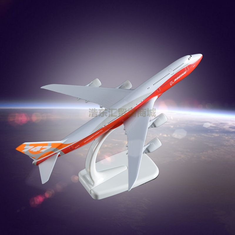 B747 Original Aircrafts Simulation Model Plane Manufacturer