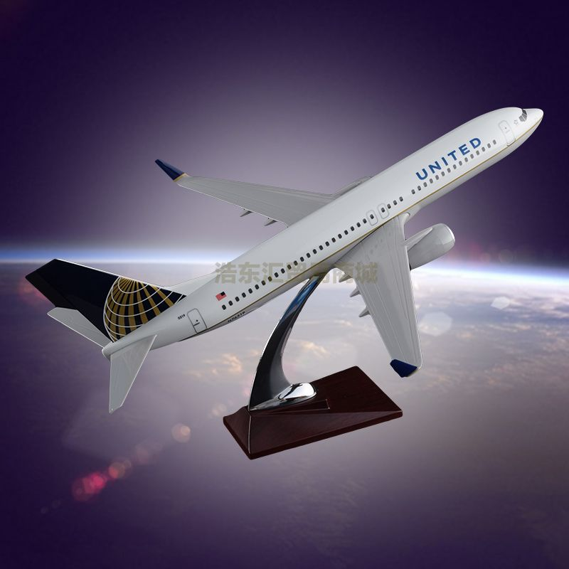 Customized Airplane Model OEM B737 United Airlines