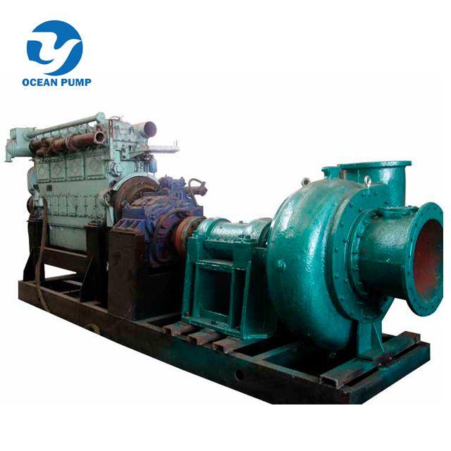 High efficiency wear resistant marine sand pump