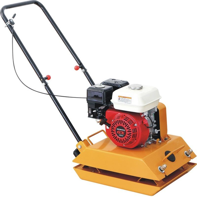 5.5HP GASOLINE ENGINE vibratory hydraulic soil compactor