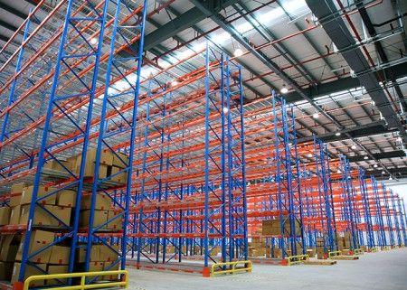 Warehouse heavy duty storage steel selective pallet racking