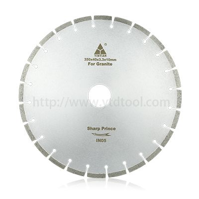350mm granite saw blade fot cutting very hard stone with high quality