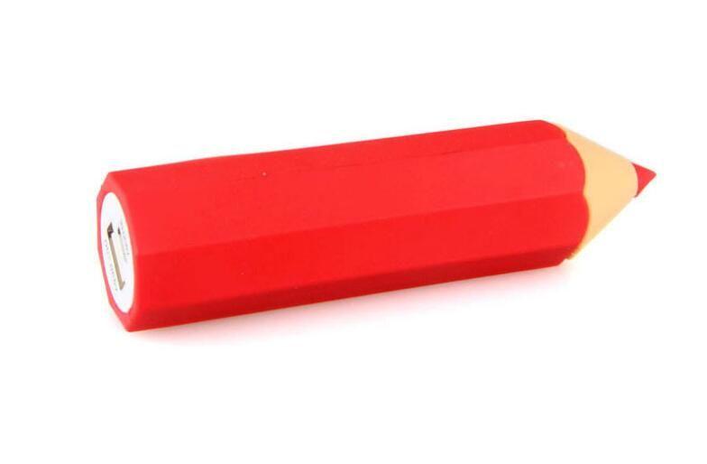 Pencil Styles PVC Power Bank