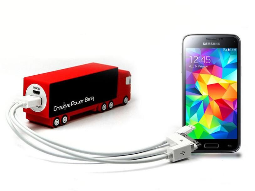 Truck Style Custom PVC Power Bank