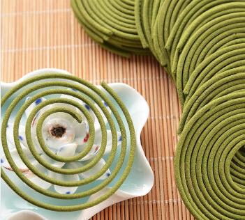 Natural Aroma Incense Coil Greentea Scent