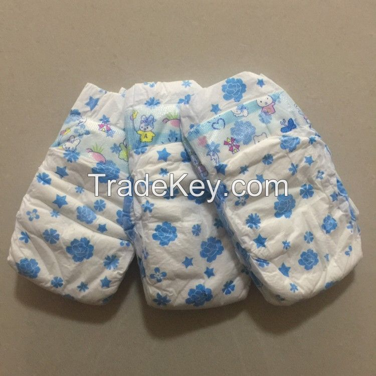 High Quality Disposable Soft Cheap Baby Diapers Nappies Factory Price