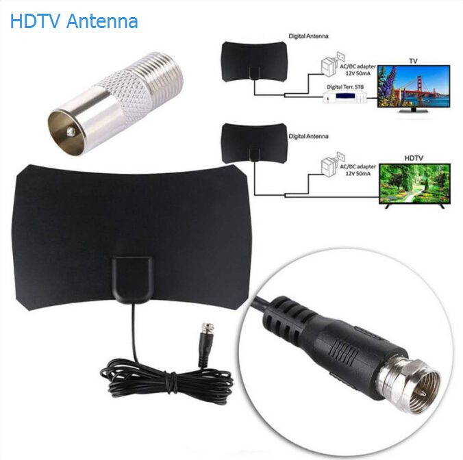 Indoor Digital Amplified HDTV Antenna
