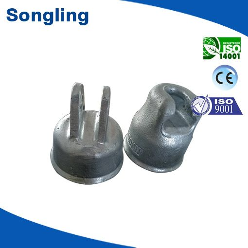 40KN/70kn/90kn/120kn metal cap for suspension insulator with high quality