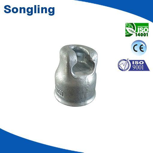 Insulator metal cap for suspension insulator