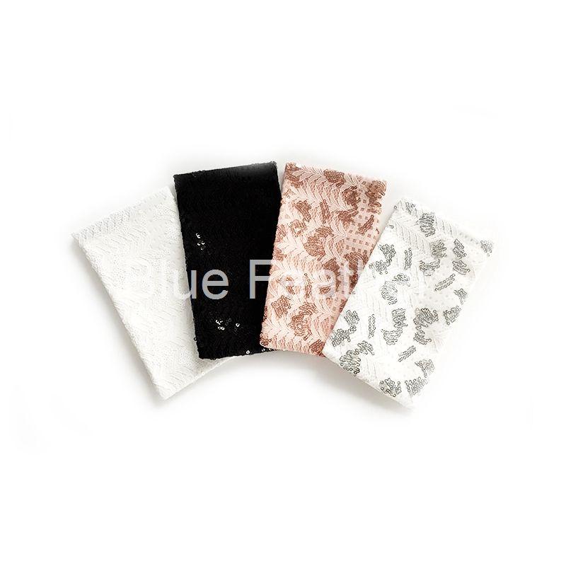 Paillette Feather Flash Soft Material Sunglasses Pouch