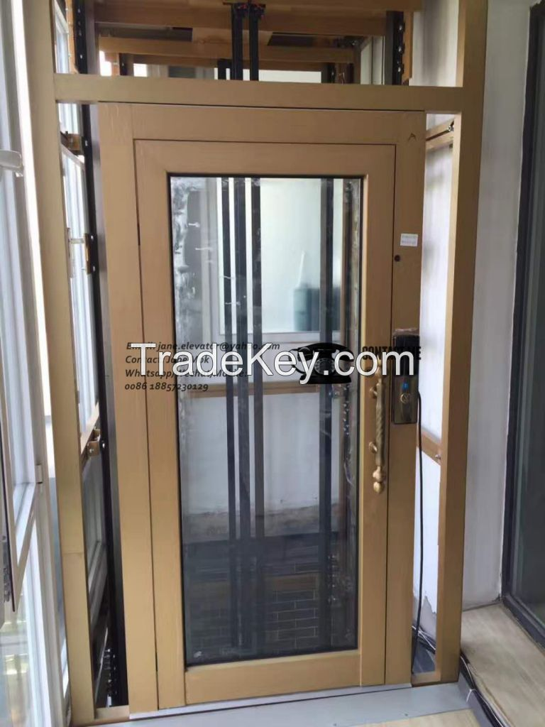 Panoramic Home Elevator with Aluminum Alloy Structure