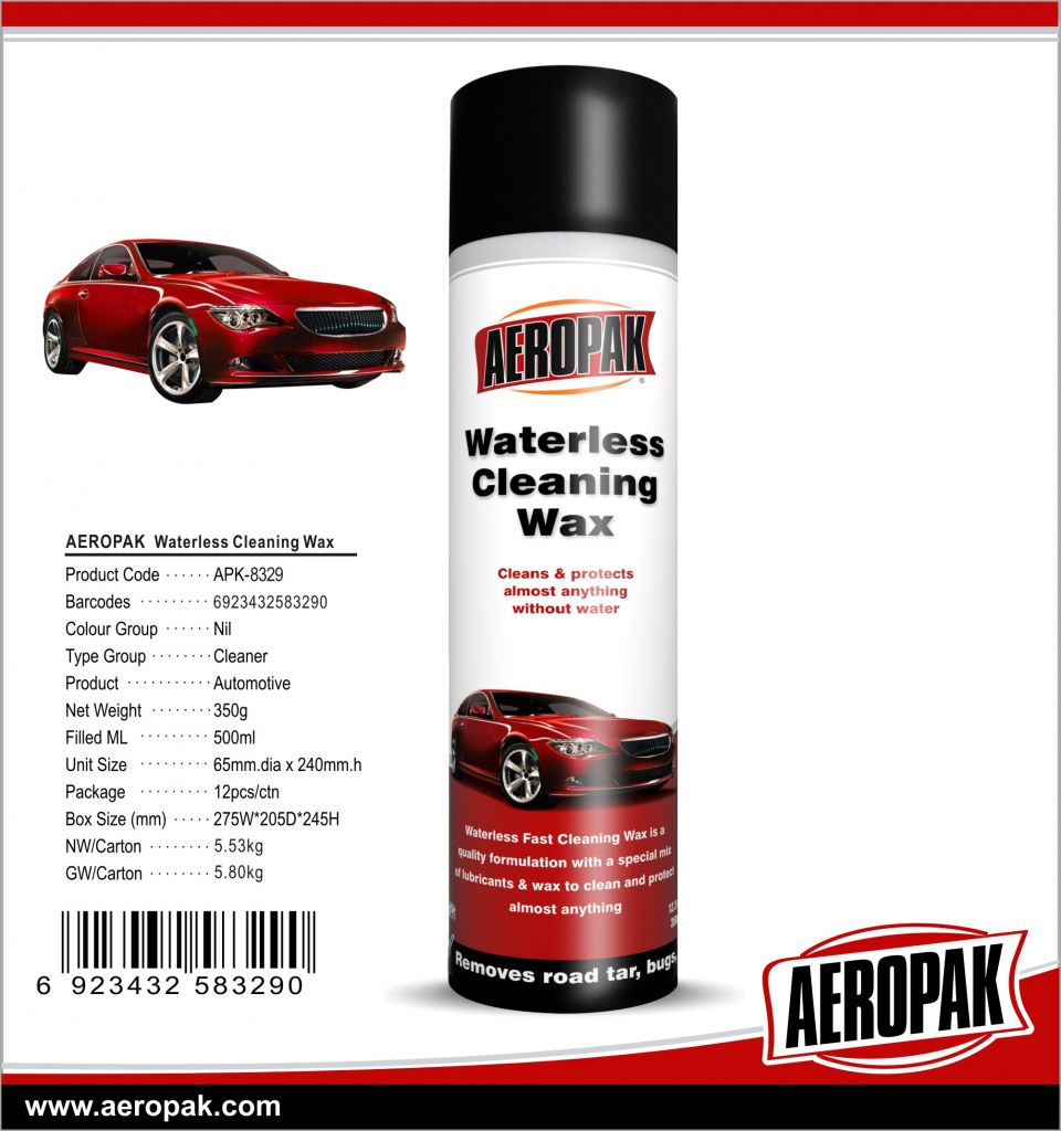 AEROPAK High Performance Waterless Cleaning Wax for Car Care