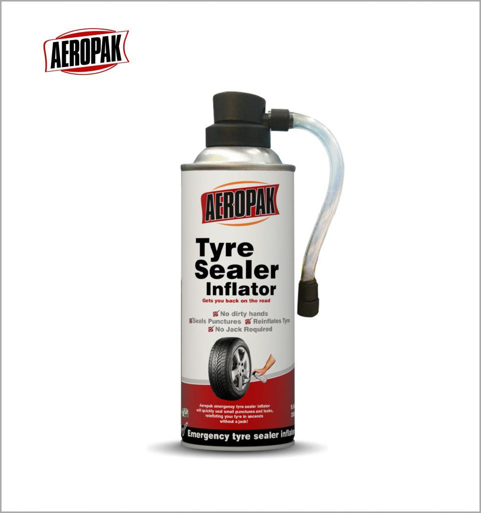 Aeropak Aerosol Tyre repair spray tyre sealer inflator