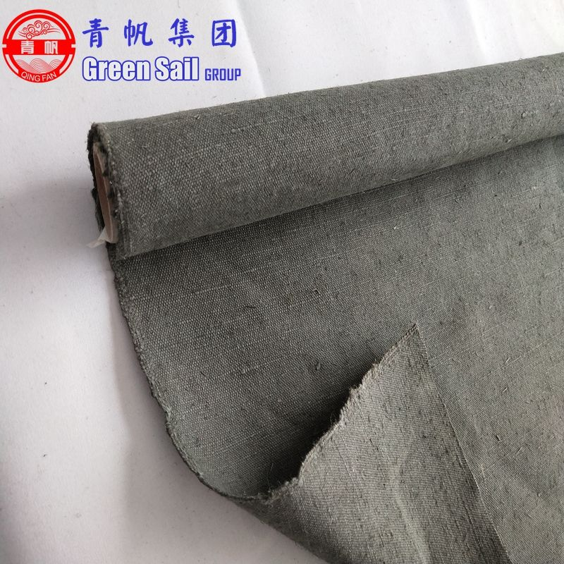 Industrial linen-cotton canvas for Cover