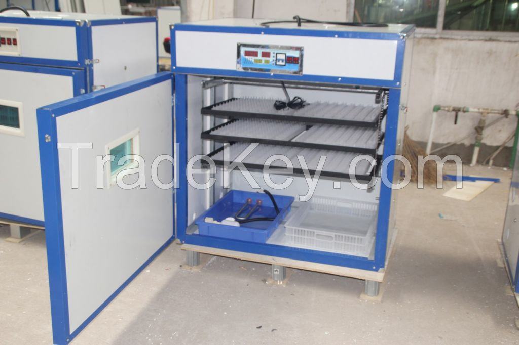 full-automatic commercial factory chicken quail egg incubator