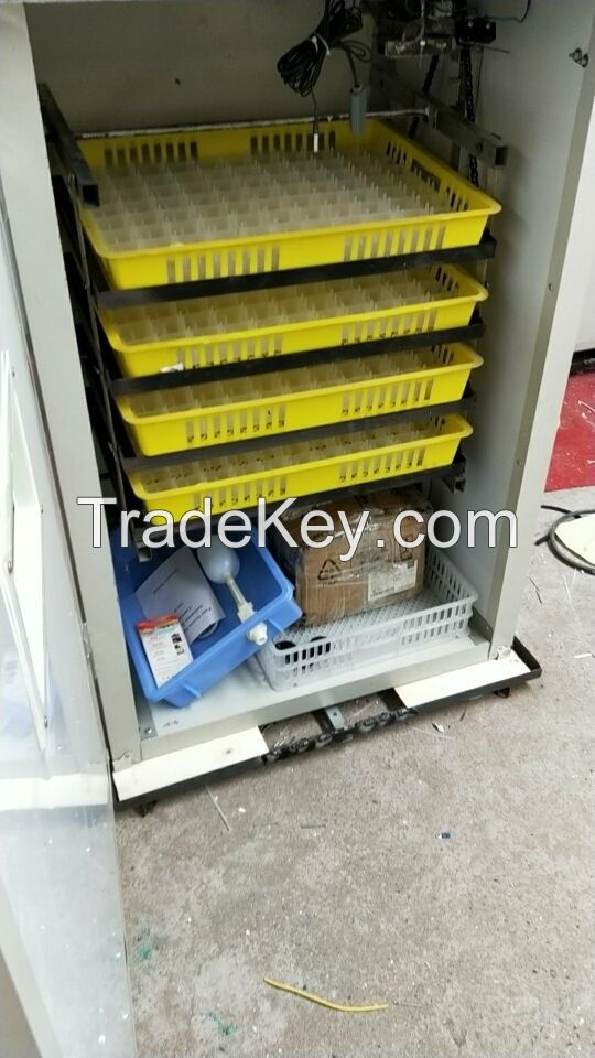 digital full-automatic reptile poultry incubator hatcher