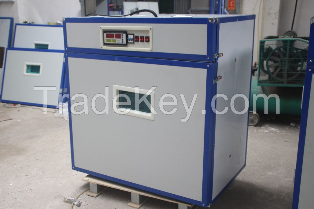 full-automatic digital commercial egg chicken poultry reptile incubator hatcher