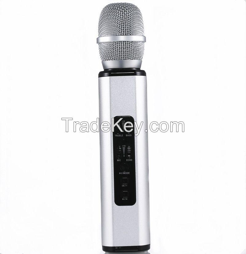 portable bluetooth speaker can use for wireless karaoke microphone