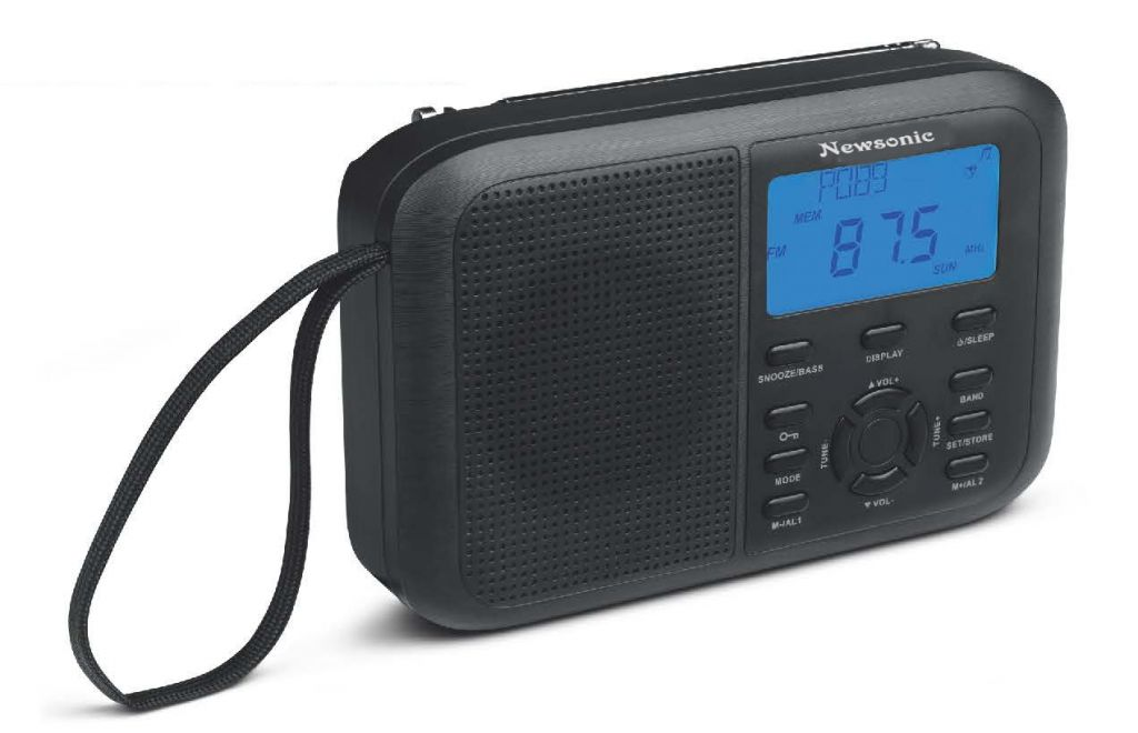 11-Band radio with world clock