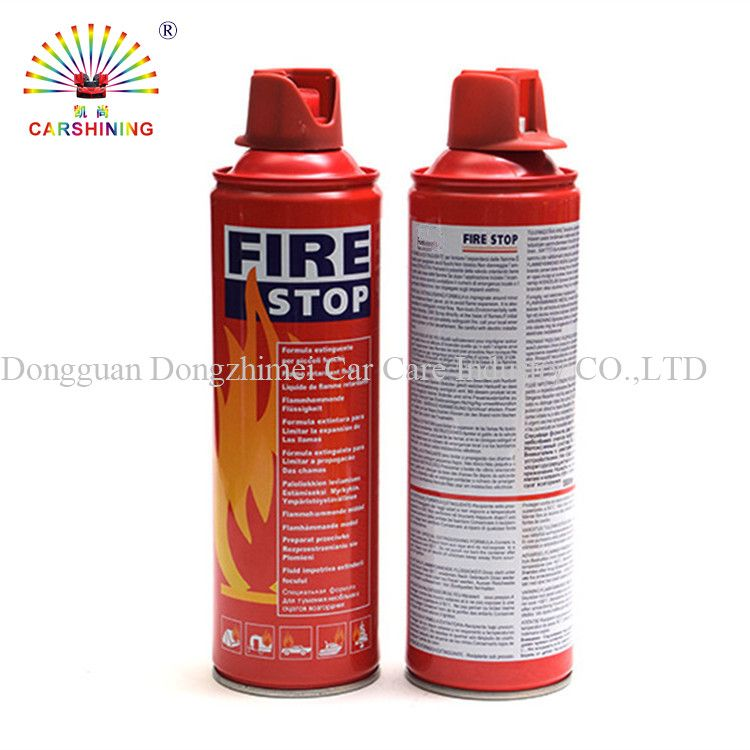 500ml/1000ml aerosol mini car portable foam fire extinguisher spray for car
