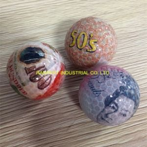 Good Quality Money Profile Golf Ball for Present or Souvenir